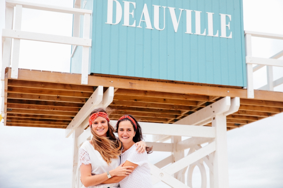 le Shooting photo EVJF à Deauville - Photographe EVJF Deauville7