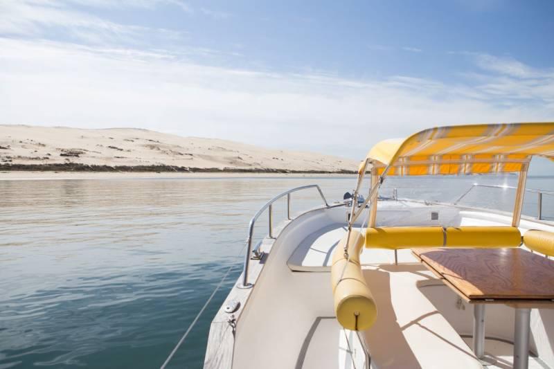 meilleures activités evjf arcachon - croisière en bateau à Arcachon